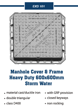 Manhole Covers and frames for storm water