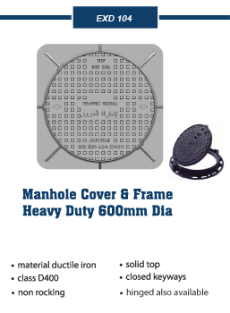 manhole traffic covers and frames
