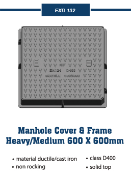 traffic manhole covers and frames